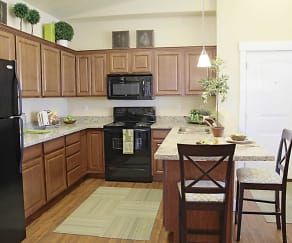 Kitchen, Riverwalk Luxury Apartments