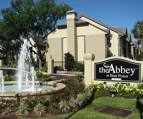 Community Signage, The Abbey At Briar Forest