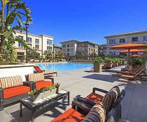 Pool, Park Place Apartments
