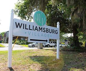 Community Signage, Williamsburg Village Apartments