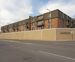Building, Sailboat Bay Apartments