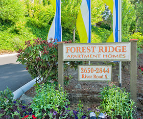 Community Signage, Forest Ridge Apartment Homes