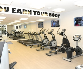 Fitness Weight Room, Gables 37 Grand