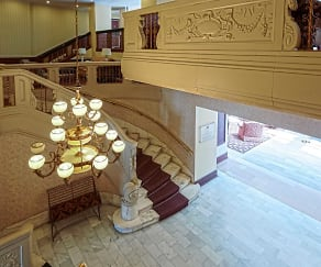 Foyer, Entryway, Sheridan Plaza