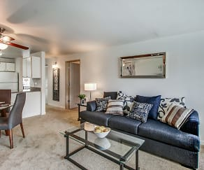 Living Room, Creekside at Tanasbourne
