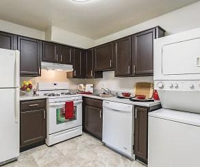 Kitchen, The Apartments at Bonnie Ridge