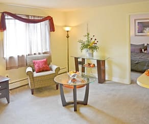Living Room, Cramer Hill Apartments & Townhomes