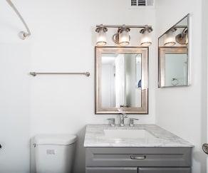 Bathroom, Raccoon Creek
