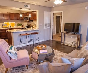 Living Room, The Palisades at Pleasant Crossing