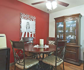 Dining Room, Terrace Hills Apartments