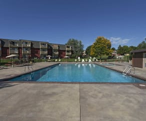 Pool, Ralston Park Apartments