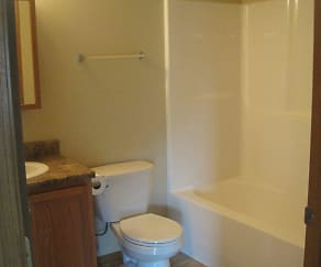 Bathroom, Timberline Apartments