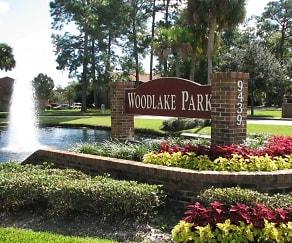 Community Signage, Woodlake Park
