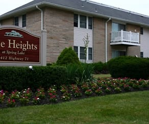 Community Signage, The Heights at Spring Lake