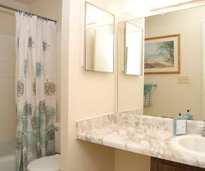 Bathroom, Riverview Condominiums