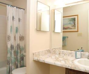 Bathroom, Riverview Condominiums