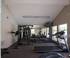 Fitness Weight Room, Windrose Apartments