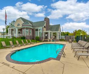 Pool, Ashley Square Apartments
