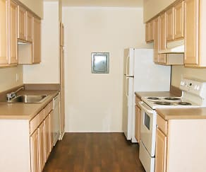 Kitchen, Regency Place Apartments