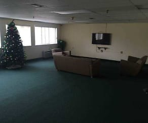Living Room, Franklin Gardens Senior Community