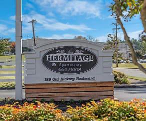 Community Signage, The Hermitage