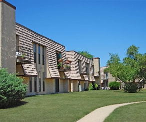 Building, Forest Creek Apartments