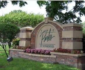 Community Signage, Parks at Wynnewood Apartments