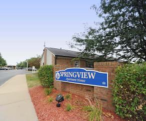 Community Signage, Springview Apartment Homes