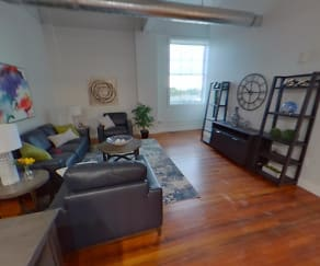 Living Room, Rathbun Lofts