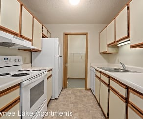 Kitchen, Shawnee Lake Apartments, LLC