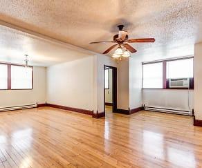 Living Room, Jackson Apartments