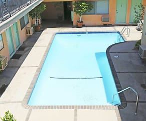 Pool, Mar Vista Apartments