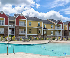 Pool, The Village of Ballantyne Apartment Homes