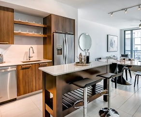 Kitchen, Solitair Brickell