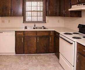 Kitchen, Wood's Edge Apartments