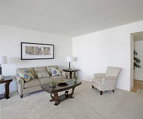 Living Room, Long Beach Towers