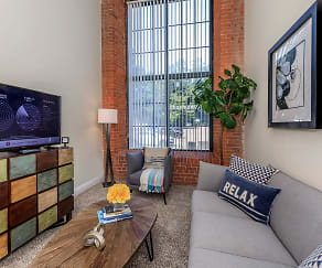 Living Room, Lofts At The Mills