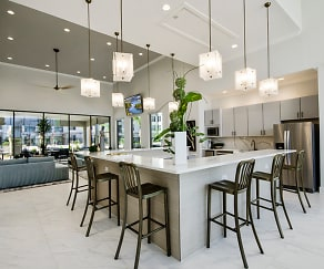 Kitchen, The Towers at Mercer Crossing