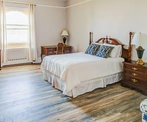 Bedroom, The Broadmoor - Retirement Community