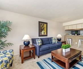Living Room, Fishermans Village Apartments