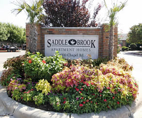 Community Signage, Saddle Brook Apartments