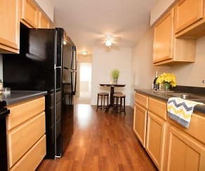 Kitchen, Holland Crossing Apartments