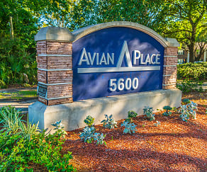 Community Signage, Avian Place
