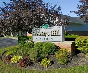 Landscaping, Partridge Hill Apartments