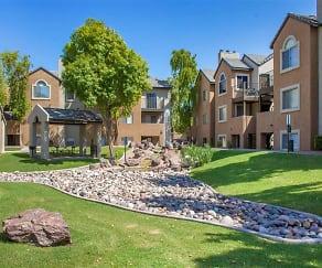 Manicured Landscaping, Terra Vida Apartments