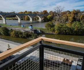 Same beautiful views of the Fox River., RiverHeath Apartments