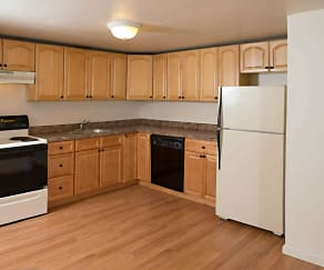 Kitchen, Village Crest Apartments