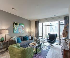 Living Room, 672 Flats