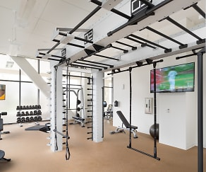 Fitness Weight Room, NORTHxNORTHWEST - North Tower