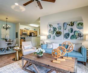 Living Room, Charleston Apartment Homes